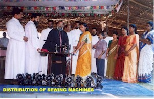 DISTRIBUTION OF SEWING MACHINE